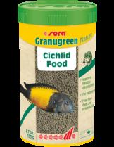 Sera Granugreen Nature - специално разработена основна храна за източноафриканските цихлиди - пакетче 20 гр.