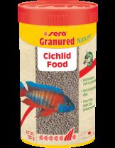 Sera Granured Nature - специално разработена основна храна за дребни месоядни цихлиди - пакетче 20 гр.