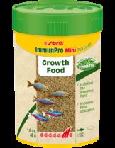 Sera ImmunPro Mini Nature - основна храна за декоративни рибки на гранули, с пробиотици и- без оцветители и консерванти, за рибки до 4 см. - 100 мл.