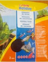 Sera Храна за рибки Нolliday за 7 дни - 2 таблетки в пакетче