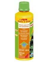 Sera - flore 3 vital - подсилваща течна добавка за аквариумни растения - 50 ml.