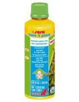 """Sera - flore 4 plant - течен тор за аквариумни растения в акваскейп и """"Холандски тип"""" - 250 ml."""