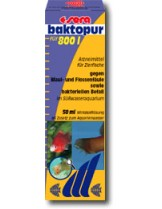 Sera bactopur - при бактерилани заболявания по аквариумните рибки - 50 ml.