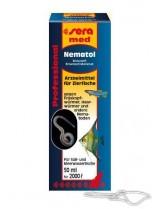 Sera med Professional Nematol - препарат за лечение срещу нематоди и кръгли червеи - 50 ml