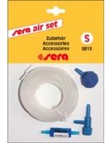 Sera - комплект за подаване на въздух в аквариума - малък (камъче, шлаух, разклонител)
