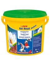 Sera KOI ROYAL Medium -  храна за средни кои и други езерни рибки - 3800 мл.