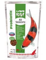 Sera Koi All Seasons Probiotic - храна с пробиотични бактерии за Кои - 7 кг.