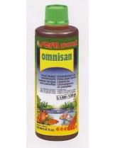 Sera Pond Оmnisan - силен дезинфектант срещу гъбички и паразити във водата на градински езерца - 250 мл.