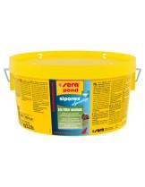 Sera - siporax pond algenstop Professional - биологичен филтърен материал за борба с едноклетъчните и нишкови водорасли в езерото - 1 кг.