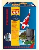 Sera - Koi 12000 Professional - професионален езерен филтър, за езера до 12000 л. + 1 помпа Sera РР12000 + маркуч 10 м (с предварителна заявка)