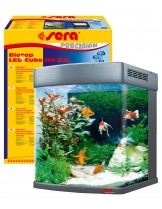 Sera Biotop LED Cube - Напълно оборудван аквариум - 51x62,6x58 cм. - 130 л.