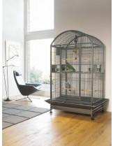 Savic Carumba Bow - Клетка за средни папагали с размери - 100,0x80,0x187,0 см.