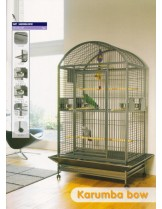 Savic Carumba Bow - Клетка за големи папагали с размери - 100,0x80,0x187,0 см.