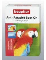 Beaphar - Anti-Parazite spot - on - противопаразитни капки за едри декоративни птици - 2 бр.