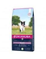 Eukanuba Puppy All Breeds Lamb & Rice - All Breeds  - Високо качествена храна за подрастващи кучета до 12 месеца от всички породи с агне и ориз - 2.5 кг.