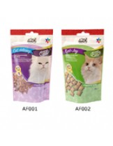 Camon AF002 snack with poultry and cat grass - лакомство за котки с трева - 50 гр.