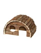 Karlie Ben -  Дървена къщичка за гризачи - 24х15х16 см.