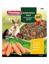 Flamingo планинско сено за гризачи с моркови - 500 гр.