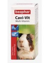 Beaphar Cavi Vit - мултивитамини + витамин С за морски свинчета - 20 ml.