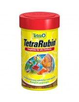 Tetra Rubin - Универсална храна с естествени съставки подсилващи яркостта на цветовете на аквариумните рибки -  100 ml.