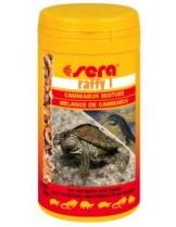Sera Rafi I - висококалорична, и балансирана храна за костенурки и месоядни влечуги - 3.800 ml