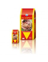 Ecopet  Energy  25/12 - гранулирана суха пълноценна храна за кучета с повишена физическа активност - 15 кг.