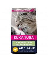 Еukanuba Adult Hairball Indoor - за възрастни котки над 1 година живеещи у дома - 4 кг.