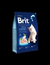 Brit Healthy Growth CAT KITTEN - пълноценна храна за котки до 1 година с чувствителна храносмилателна система с пилешко - 8 кг.