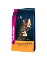 Еukanuba Adult Chicken&Liver  - за възрастни котки над 1 година с пиле и дроб - 4 кг