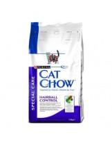 Cat Chow Adult Hairball Control - суха гранулирана, храна за възрастни котки над 1 година за отделяне на космените топки - 1.5 кг.