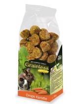 JR Farm - Беззърнена допълваща храна за гризачи моркови - 140 гр.