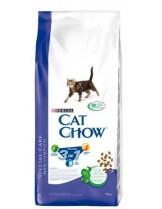 Cat Chow Adult Special Care 3 in 1  -  балансирана храна за възрастни котки над 1 година, справяща се с три проблема: уринари, хербъл контрол и почистване на зъбния камък - 15 кг.
