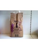 Who Cares lavander aroma - Бентонитна постелка за котешка тоалетна с аромат на лавандула - 5 кг.