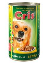Cris Mixed Meat- консерва за куче със заешко месо - 1.250 кг.
