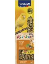 Vitakraft Kräcker Original Honig & Sesam - крекер за канари с мед и сусам - 2 бр. - 74 гр.