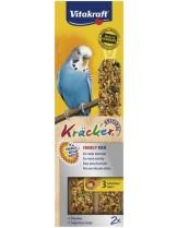 Vitakraft kräcker funktional energy - крекер за вълнисти папагали с йод и много протеилни - 2 бр. - 85 гр.