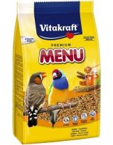 Vitakraft Premium Menu Exotis - основна храна за екзотични птички - 0.500 кг.
