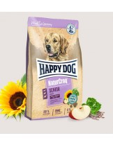 HAPPY DOG  Natur Croq Senior - Натурална линия суха храна за кучета над 8 години от всички породи с пилешко, риба и говеждо - 4 кг.