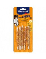 Vitakraft Deli Chews - Лакомства за кучета Спираловидни солети с пилешко месо - малки S - 5 бр. - 55 гр.