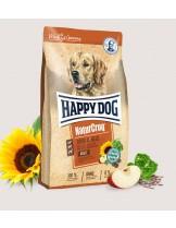 HAPPY DOG  Natur Croq Rind & Reis - Натурална линия суха храна за израстнали кучета от всички породи с говеждо и зеленчуци -  15 кг.