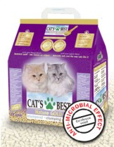 CAT`S BEST NATURE GOLD - постелка за котешка тоалетна - 10 л.