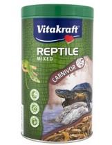 Vitakraft Turtle mixed - Микс от пелети и скариди - 1 л. - 299 гр.