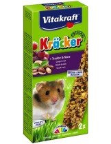 Vitakraft Kräcker Klassik Nuss / Bunte Hirse - крекер за хамстери с ядки - 2 бр. - 145 гр.