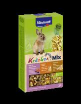 Vitakraft Krecker Trio Mix  - Крекер за мини зайчета с горски плодове, мед и пуканки - 3 бр. - 213 гр.