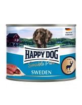 HAPPY DOG - Wild Purr - Високо качествена консерва 100% месо от елен - без соя, растителни добавки, оцветители или консерванти - 0.400 кг.
