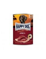 HAPPY DOG - Strauss Pur - Консерва 100% щтраусово месо - без соя, растителни добавки, оцветители или консерванти - 0.400 кг.