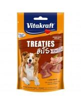 Vitakraft TREATIES MINIS - Лакомства за кучета - сочни хапки с лебервурст - 120 гр.