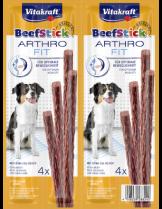 Vitakraft Beef Stick Arthro Fit - Лакомства за кучета - Саламена пръчица при ставни проблеми - 62 гр.