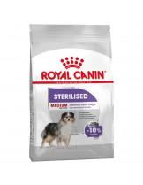 Royal Canin Medium Sterilised  –  суха гранулирана храна за кастрирани кучета от средните породи със склонност към затлъстяване (над 12 месеца) - 10 кг. наднормено тегло