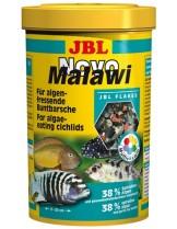 JBL NovoMalawi - Храна за растителноядни африкански цихлиди от езерата Малави и Танганайка  - 250 ml.